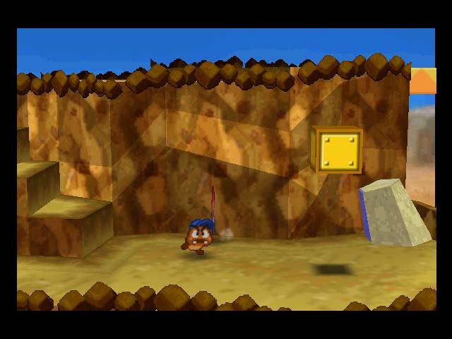 Paper Mario - Misc joke - Goombario: Where